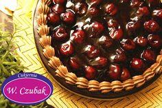 Absolutnie fantastyczny tort z wiśniami.  Rozgrzewający i mocno czekoladowy. Szlachetny smak idealny na pochmurne dni .