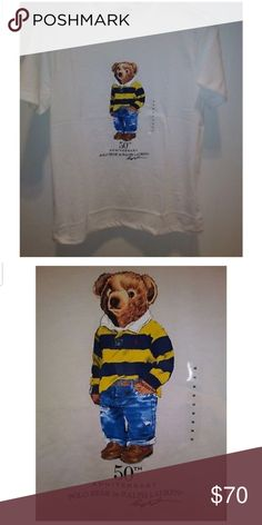 0fbcef3c Ralph Lauren limited edition Polo Bear t-shirt 2017 limited edition Polo  Bear tennis t-shirt.. This t-shirt is sold out in all stores.