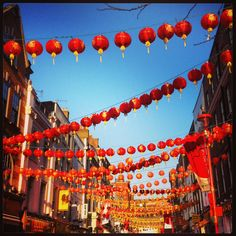 Chinese New Year in Chinatown, London Chinese New Year Poster, New Years Poster, Chinese Holidays, Red Envelope, Spring Festival, Days Out, Cherry Blossom, Places Ive Been, Beautiful Flowers