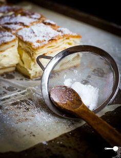 "Karpatka (Polish Vanilla Custard Slice) - a very delicious recipe - via this blog, ""Wholesome Cook""."