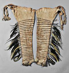 Rare and Important Blackfeet Chief's Shirt and Leggings