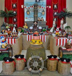 Encontrando Ideias: Festa Mickey Pirata!!
