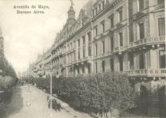 La Avenida de Mayo Neoclassical Architecture, Mayo, Louvre, Industrial, Building, Travel, Street, Buenos Aires, Countries