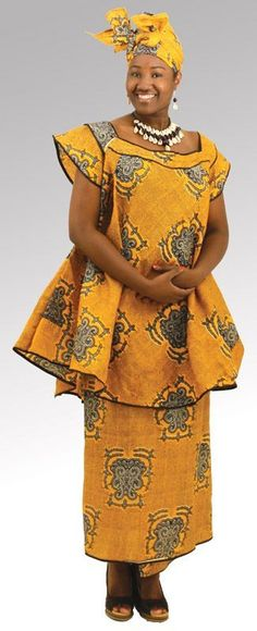 ... African Dress on Pinterest | African dress, African fashion and