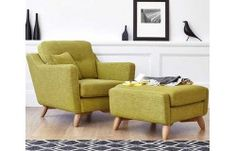 Love the new Ercol Cosenza Chair and Footstool range.