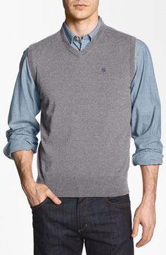 Victorinox+Swiss+Army®+'Suisse'+Tailored+Fit+Sweater+Vest+(Online+Only)+available+at+#Nordstrom