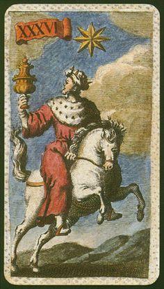 The Star from Minchiate Etruria tarot Tarrot Cards, Le Tarot, Fortune Cards, Tarot Cards For Beginners, Star Tarot, Horse Cards, Tarot Major Arcana, Title Card, Tarot Readers