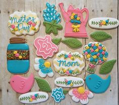 Mothers Day Cookies  https://www.facebook.com/sweetcharleyconfections