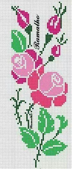 This Pin was discovered by Ale Easy Cross Stitch Patterns, Simple Cross Stitch, Cross Stitch Borders, Bead Loom Patterns, Cross Stitch Designs, Cross Stitching, Cross Stitch Embroidery, Celtic Cross Stitch, Cross Stitch Rose