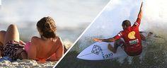 Beldades e ondas: as melhores imagens do SuperSurf