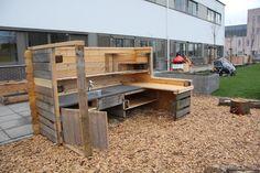 De buitenkeuken van onze locatie Amstelveen, in het Ziekenhuis Amstelland.