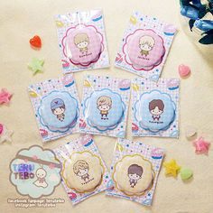 A 1.73 kpop badge / button pin with doff (non glossy) finishing.  Ready to be attached on your bag, pouch, shirt, etc.   :: This listing is for 1 button pin, please chose from the available lists.  :: 3 buttons (chose) option please write on the note to seller, three buttons (of the same price) of your choice.  :: To buy the complete set, please see here: https://www.etsy.com/listing/242863851/kpop-buttons-pin-button-complete-package    ♥ Follow Teru Tebo on instagram ♥…