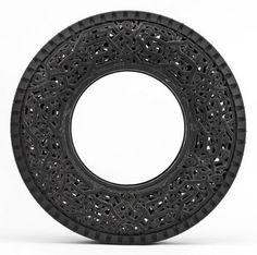 Carved Tires | Wim Delvoye | feel desain