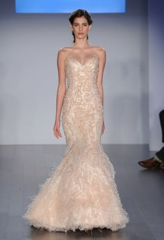 Lazaro Spring 2015 available at Cocoa Couture Pinned from dreamweddingspa.com