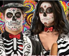 Day of the dead make up and art ideas