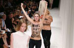 Femen Paris Fashion Week