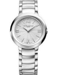 Baume Et Mercier Promesse Silver Dial Stainless Steel Ladies Watch 10157