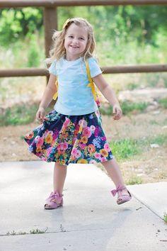DIY Pattern Easy Circle Skirt Sewing Tutorial