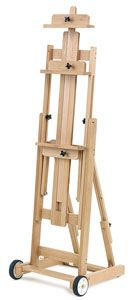 My Dream Easel!  Most women want clothes or jewelry.... I love art stuff!