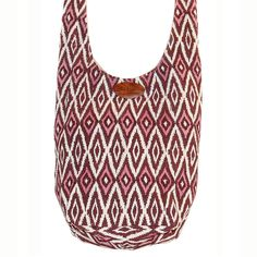 Hippy Bag - Fig ikat