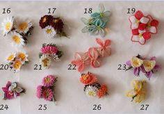 2012 2012  Birbirinden güzel İğne oyası örnekleri Needle Lace, Needle And Thread, Bead Crochet, Crochet Hooks, Crochet Flowers, Fabric Flowers, Crochet Unique, Teneriffe, Lace Making