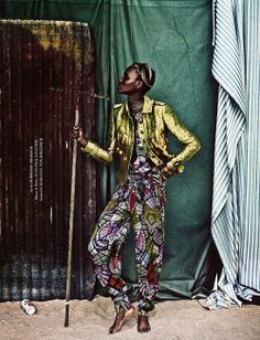 Tanzanian model Herieth Paul photographed by Boe Marion for Tush Magazine