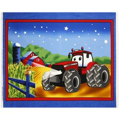 Case IH Kid's 36 inch Cotton Fabric Panel by Beverlys.com