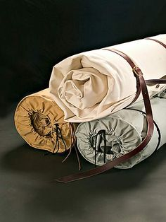 Canvas Cavalry Bedrolls |David Ellis Canvas Products