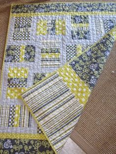 """""""Little Man"""" Quilt from Stashbook's Simplify With Camille Roskelley: Quilts for the Modern Home"""