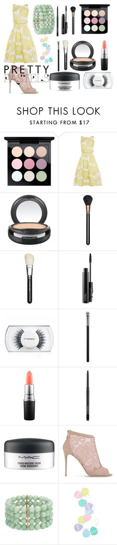 """""""Pastel Easter"""" by marthabr on Polyvore featuring MAC Cosmetics, Dolce&Gabbana, Lonna & Lilly, Levtex, cute, beautiful and pastel"""