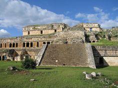 Maya Ruin at Sayil, Yucatan, Mexico