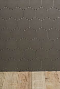 Carrelage hexagonal mat gris 15 x 15 cm he0811006 for Carrelage hexagonal marbre