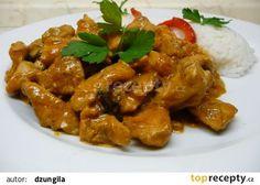 Marinované kuřecí na houbách recept - TopRecepty.cz Chicken Wings, Recipies, Anna, Kochen, Essen, Recipes, Food Recipes, Rezepte, Buffalo Wings