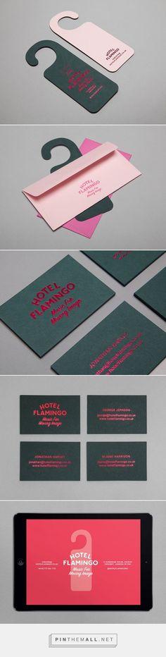 Patrick Fry Branding Business Card / Hotel Flamingo