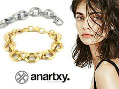 Eslabones rotundos  #anartxy #JoyasEnAcero #JóiasEmAço #SteelJewel #BijouxEnAcier #estilo #style #woman #joyas #acero #jewelry  #tendencias