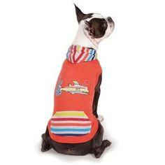 Zack and Zoey Under The Sea Dog Pullover - Orange
