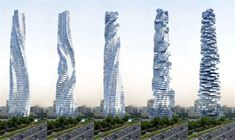Dubai krijgt draaiende wolkenkrabber