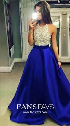Royal Blue Prom Dresses Long, Ball Gown Formal Dresses with Pockets, Halter Graduation Dresses Satin, Tulle Wedding Party Dresses with Beading Cheap Formal Dresses, Sparkly Prom Dresses, Royal Blue Prom Dresses, Prom Dresses For Teens, Backless Prom Dresses, Homecoming Dresses, Graduation Dresses, Evening Dresses Online, Designer Evening Dresses