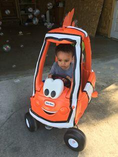 Pimp my cozy coupe Trey's Nemo Kiddie 500 car