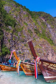 Phi Phi Islands - The Ultimate Guide Phuket Travel Guide, Thailand Travel Tips, Travel Destinations Beach, Asia Travel, Thailand Phi Phi Island, Thailand Island Hopping, Destin Beach, Beach Trip, Thailand Pictures