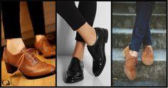 """[CALÇADOS MASCULINOS]  www.armoniestore.wordpress.com Os calçados masculinos, assim como muitas roupas originalmente masculinas, foram pouco a pouco entrando no universo das mulheres. Desde as semanas de moda internacionais de inverno 2011, essa tendência se fixou definitivamente no vestuário feminino. Hoje esses sapatos são ótimos parceiros para nosso estilo atemporal. Uma vez que adiciona um toque """"despretensioso"""" ao look."""