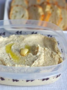 Three Easy Game Day Dips (Perfect for March Madness): Roasted Garlic White Bean Dip @OleanderandPalm