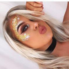 """463 curtidas, 11 comentários - Best Festival Makeup! ✌️ (@festival_makeup) no Instagram: """"@bysiobhan_  #festive #festival_makeup #festivalmakeup #ravebae #ravemakeup #edcmakeup…"""""""
