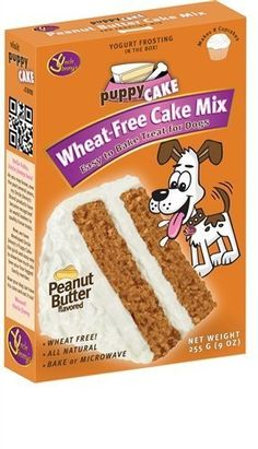 Puppy Cake Wheat-free Peanut Butter Cake Mix and Frosting by Puppy Cake, http://www.amazon.com/dp/B0068OWGE0/ref=cm_sw_r_pi_dp_eHAUqb1E9WJP1