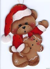 HP TEDDY BEAR with Gingerbread ORNAMENT