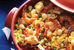 The quick paella - Delicious One-Pot Dinners
