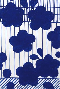 Clouds pattern by Japanese textile brand SOU · SOU | www.sousou.co.jp