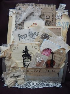Loaded Envelope with 5 mini journals - Perfect gift for someone who journals or crafts