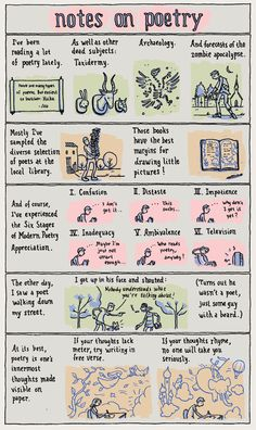 INCIDENTAL COMICS: Notes on Poetry