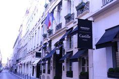 { Paris et moi わたしとパリ } パリに行ったら したいこと⑤ CHANEL 本店の隣にある5つ星 Hotel Castille にステイする! Paris